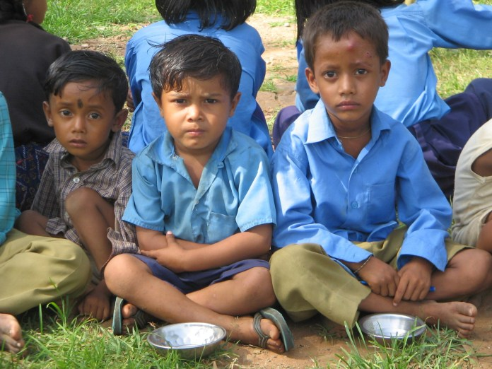 Why do kids not have education in India?