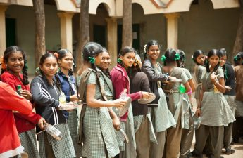 Currently, Akshaya Patra Foundation is supplementing the government mid-day meal programme in 12 different states of India.