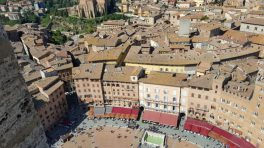 Siena view from above