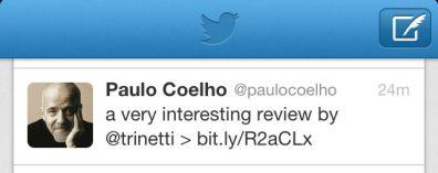 Coelho tweet