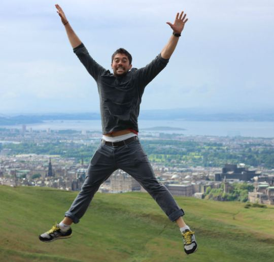 Scotland jumping