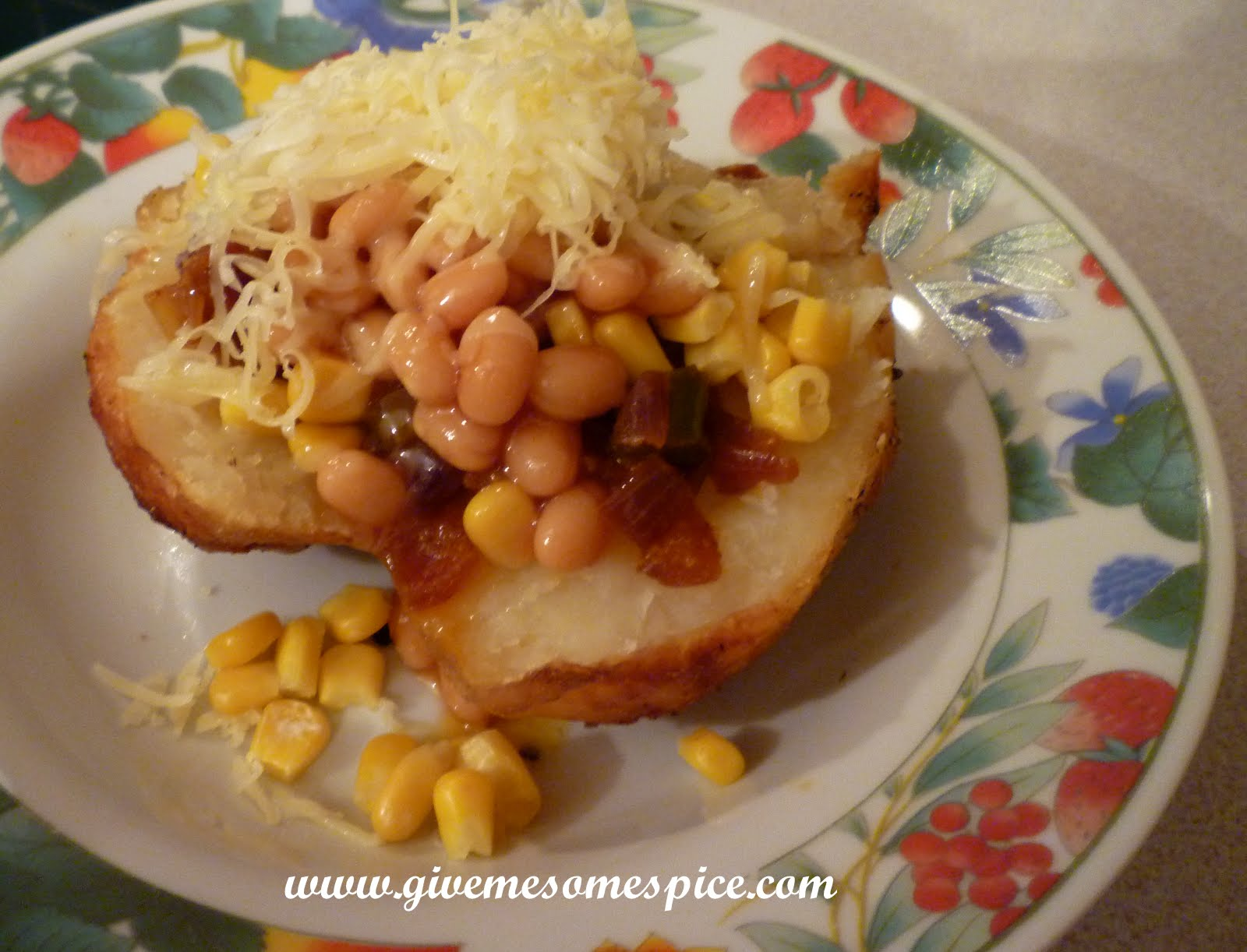 Jacket Potatoes With A Bit Of Desi Jhatka Authentic