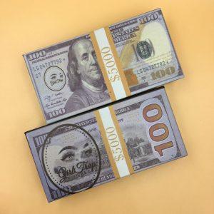 customize your own money eyelash box