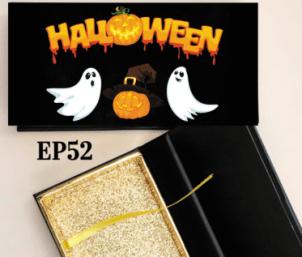 custom Halloween eyelash packaging usa