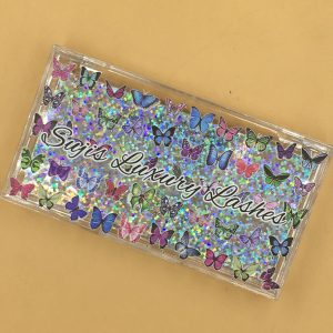 wholesale colourful eyelash packaging
