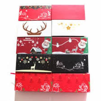 Christmas eyelash packaging wholesale