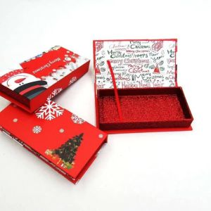 custom Christmas lash packaging
