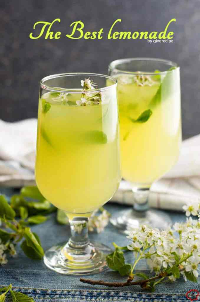 The Best Lemonade - Give Recipe