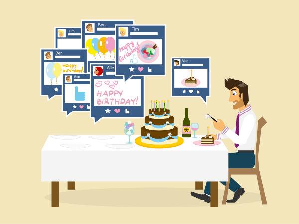 Facebook Bids Adieu To Happy Birthday Wishes Gizbot News