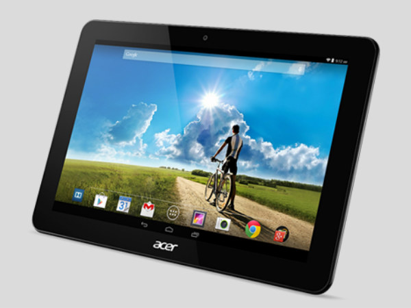 New Acer Iconia 10 Tablet clears FCC Certification: Launch Imminent?