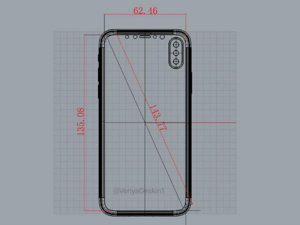 iphone8sdisplayleakedonceagainrevealsdevicedimension 03 1496473485 iPhone 8's display leaked once again; reveals device dimension