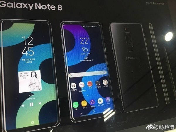 Samsung Galaxy Note 8 render hits the web, price is also out