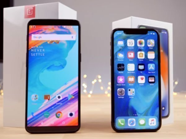 OnePlus 5T outshines iPhone X in speed test video