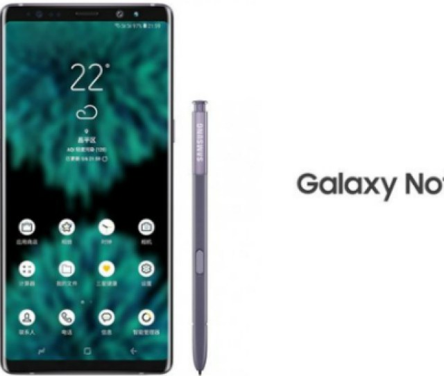 Samsung Galaxy Note  Render Gives Us A Glance At The Design