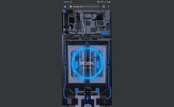65W Warp Charge Tech For OnePlus 8T Teased