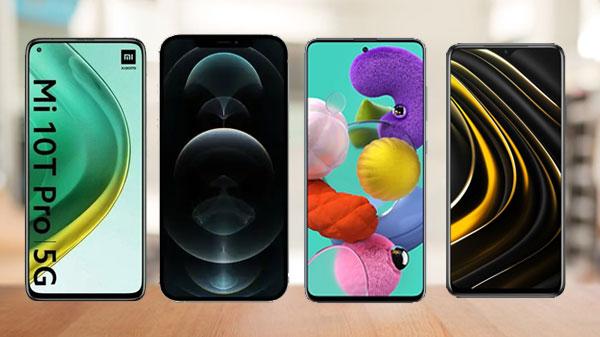 Last Week Most Trending Smartphones: Redmi Note 9 Pro 5G, iPhone 12 Pro Max, Galaxy A51, Mi 10T Pro 5G