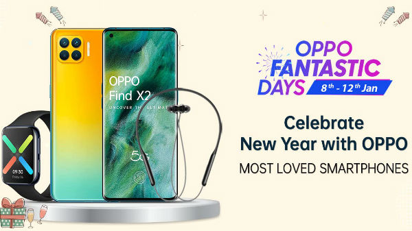 Amazon Oppo Fantastic Days Sale 2021 January: Offers On Oppo F11, Oppo F17 Pro, Oppo A53 And More