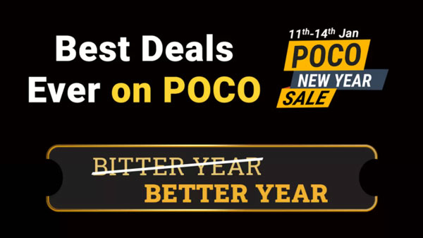 Poco New Year Sale 2021: Discount Offer On Poco C3, Poco M2 Pro, POCO X3 And More Smartphones