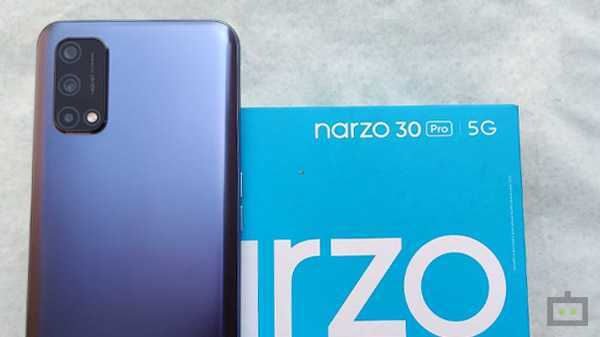 Realme Narzo 30 Pro 5G First Sale Set For March 4