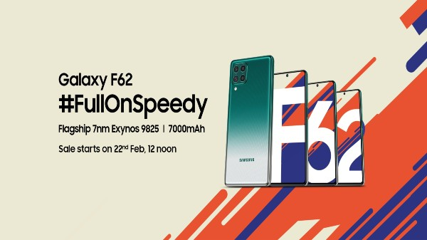 Samsung Galaxy F62 With 7,000 mAh Battery Launched In India