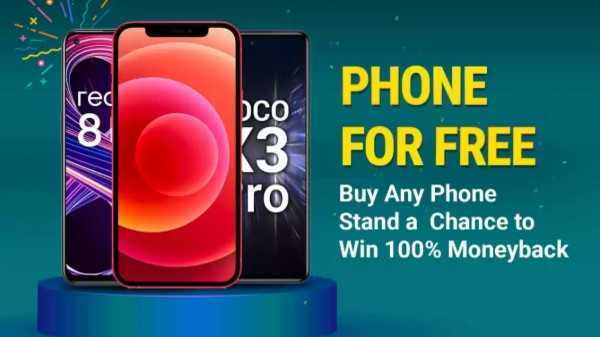 Flipkart Phone For Free Offer: Here's A Chance To Win 100% Cashback