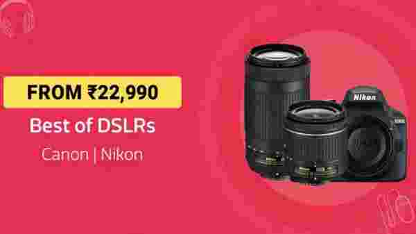 Best DSLR Cameras From Rs 22,990