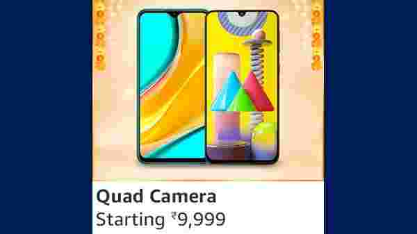 Quad Camera Smartphones Starting From Rs. 9,999