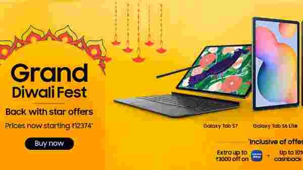 Up To 40% Off On Samsung Tablets