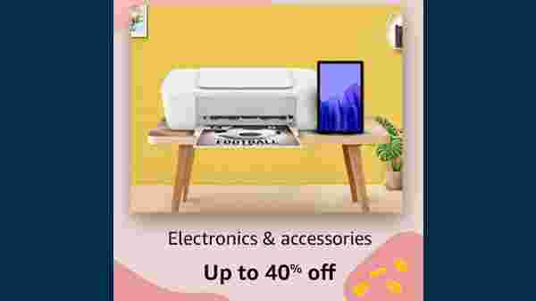 Upto 40% Off On Electronics And Accessories