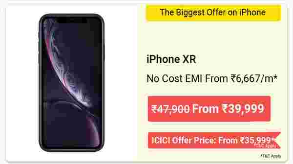 12% Off On Apple iPhone XR