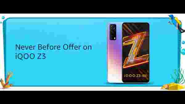 Never Before Offer On iQoo Z3