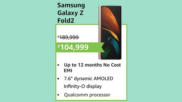 21% Off On Samsung Galaxy Z Fold2 5G