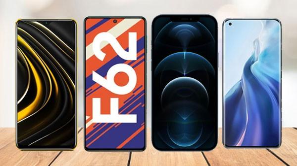 Last Week Most Trending Smartphones 2021: Galaxy F62, Mi 11, Poco M3, And More