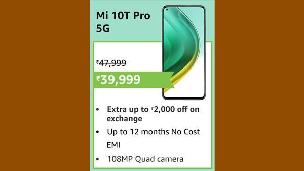 17% Off On Mi 10T Pro 5G