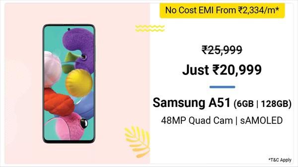 19% Off On Samsung Galaxy A51