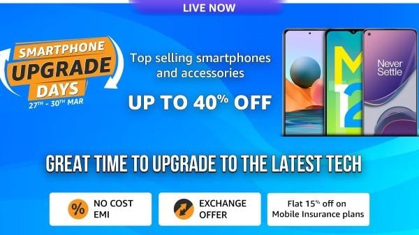 Amazon Smartphone Upgrade Days: Discount Offers On Premium Smartphones