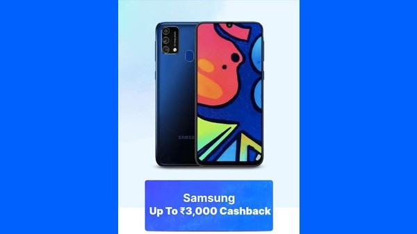 Up To Rs. 3,000 Cashback On Samsung Phones