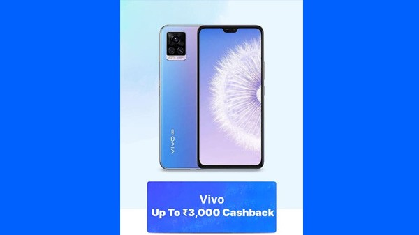Up To Rs. 3,000 Cashback On Vivo Phones