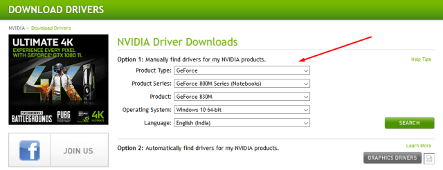 search nvidia drivers - Fix Nvidia Control Panel Issue