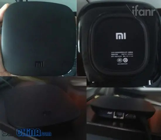 leaked xiaomi tv android set top box design