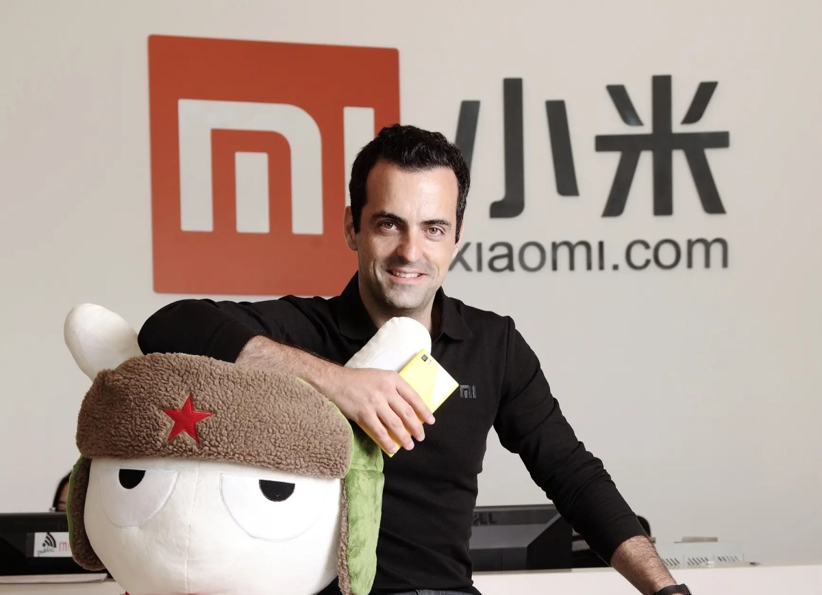 Hugo Barra steps down as Xiaomi VP, returns to Silicon Valley