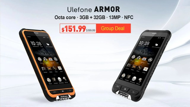 Ulefone Armor Group Deal