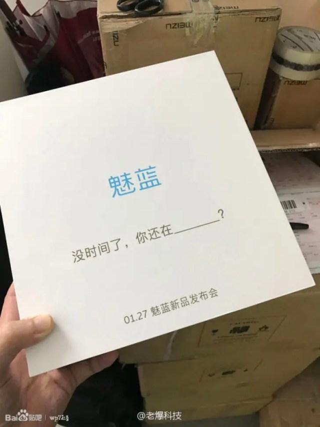 Meizu M5s invite.