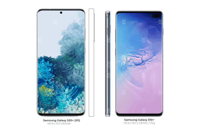 Samsung Galaxy S20 series vs Galaxy S10