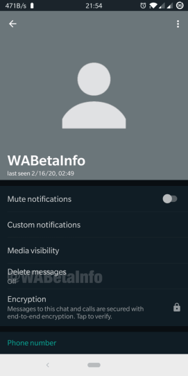 Delete Message 1 720x1440 1 - تطبيق الواتساب يقدم ميزة الحذف التلقائي للرسائل قريبا.. كيف تستخدمها