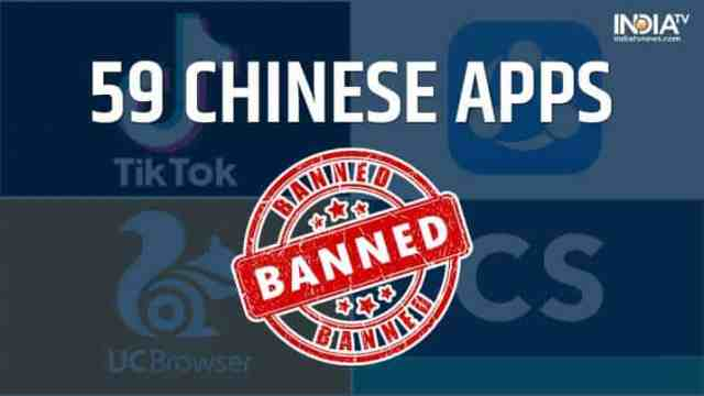 59 Chinese mobile apps