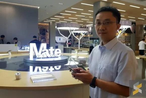 Bruce Lee on Huawei Mate 40 series