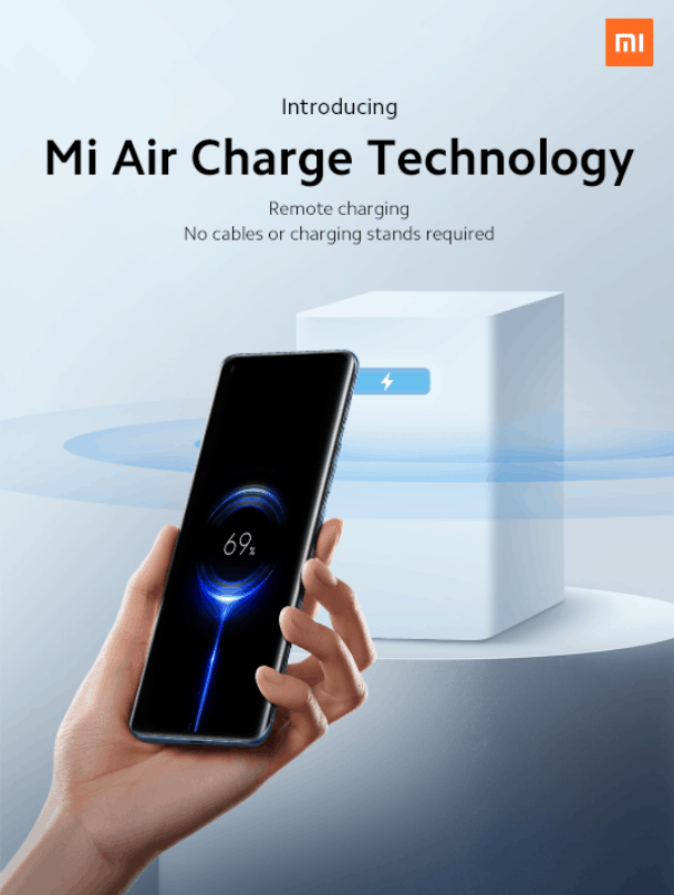 Xiaomi Mi Air Charge Technology