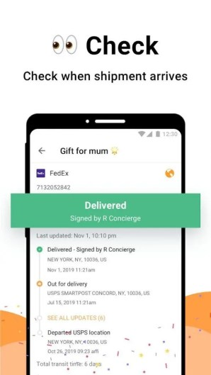 AfterShip Package Tracker - best free Android apps and games