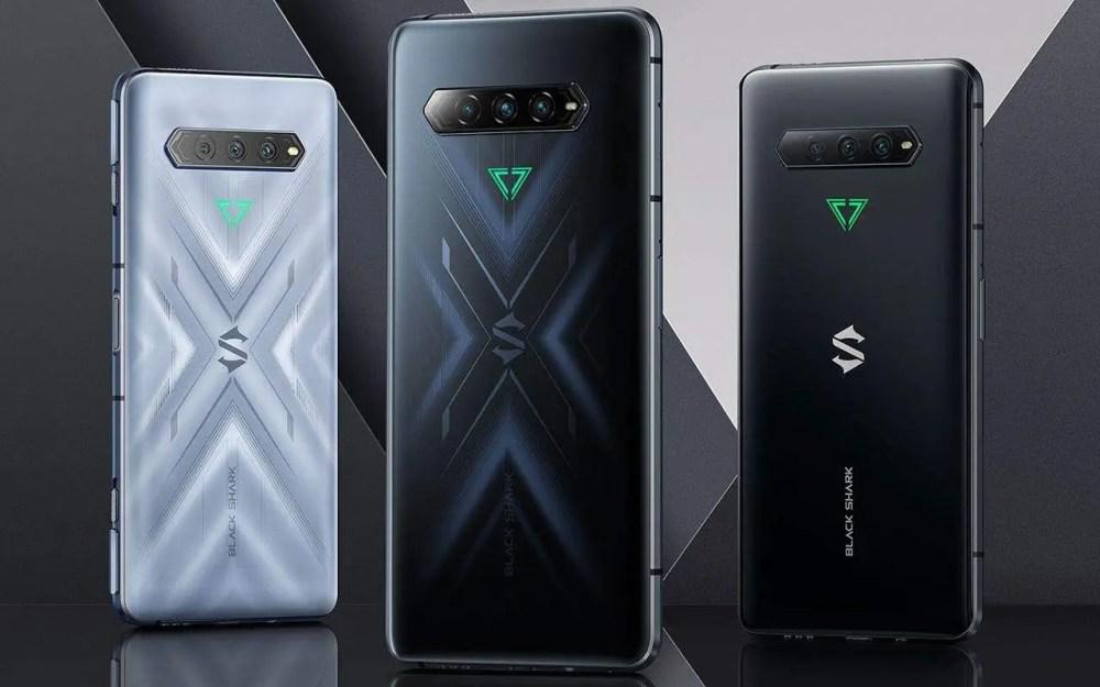 Black Shark 4 android smartphones